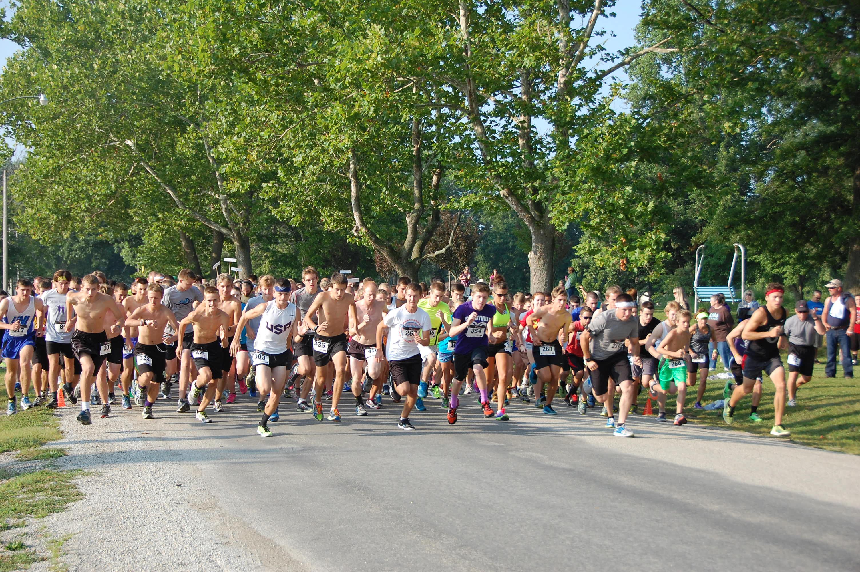 Start of 2014 Tom Short Race